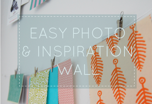 DIY Inspiration Wall - Kaezel Sangil's Creative Journal